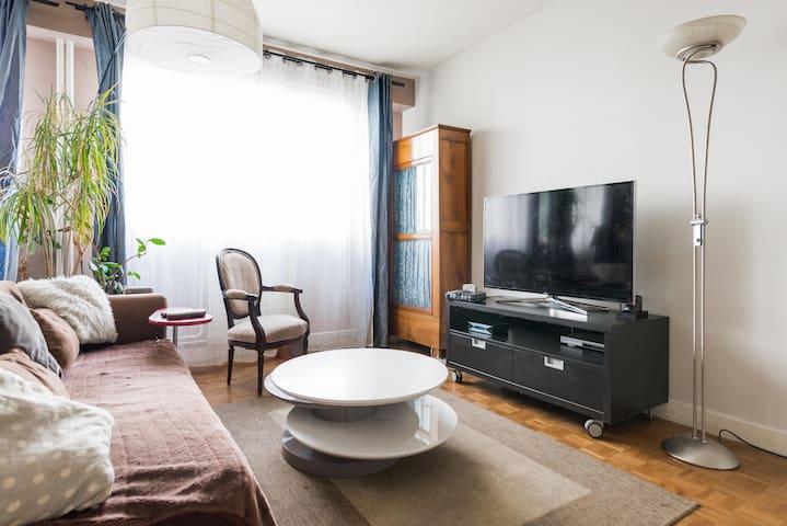 Charming and spacious studio flat (33m²) - Paris - Apartment
