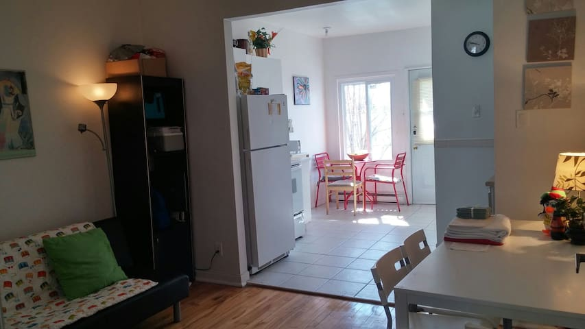 Cozy & quiet close to subway station and services - Montréal - Huoneisto