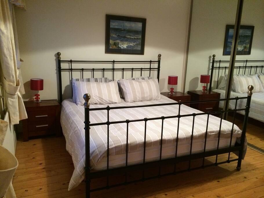 Super-king size bed
