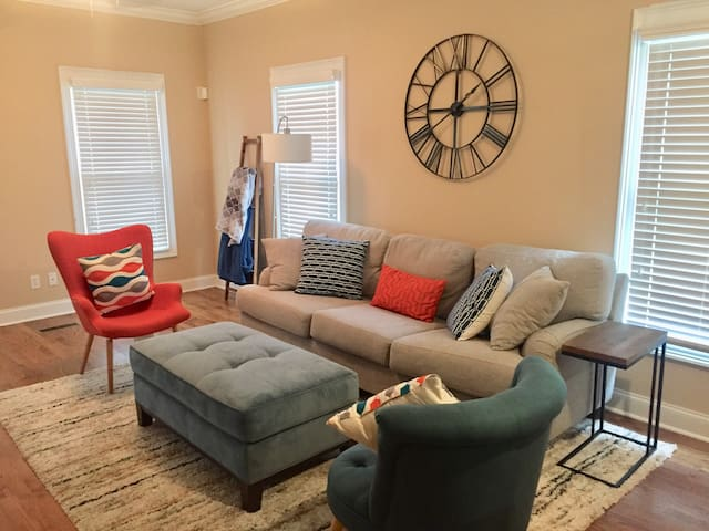 """Southside Downtown Chattanooga """"Modern"""" Room"""