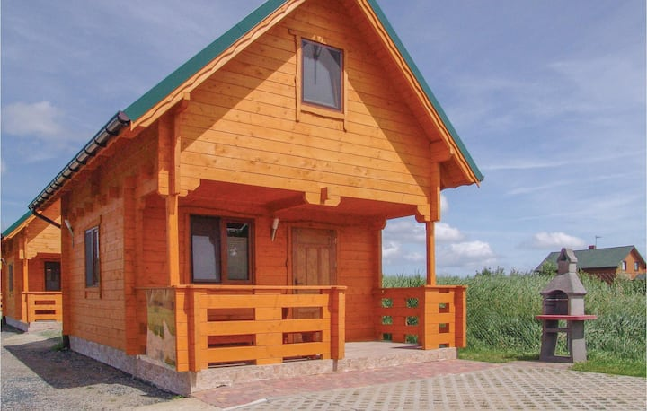 Beautiful home in Gaski with WiFi and 2 Bedrooms