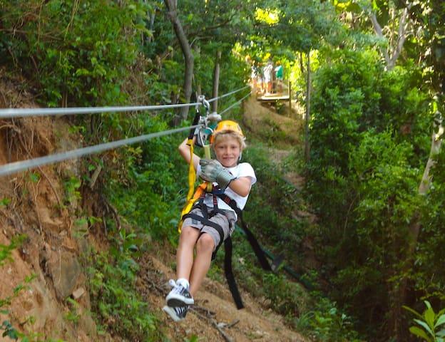 Zip Line Fun. silverstreakziplinetours.com
