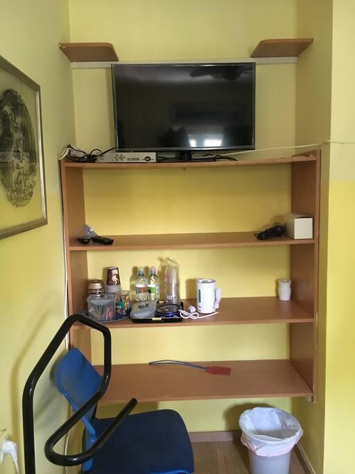 Tv, coffee,tea shelving