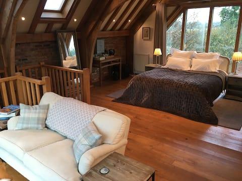 Barn room, near Le Manoir aux Quat' Saisons