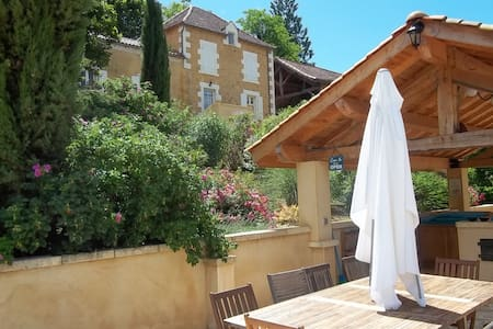 Beautiful country house in Dordogne - Salles-de-Belvès - 一軒家