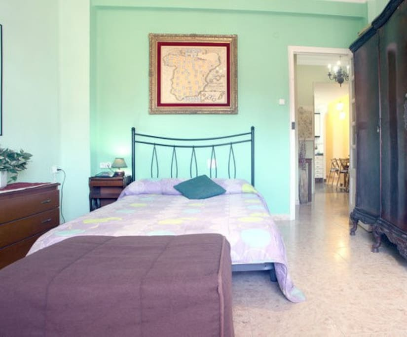 Double room with historic furniture from the 1900