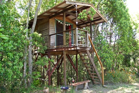 Tree house, Mullumbimby, near Byron - Main Arm