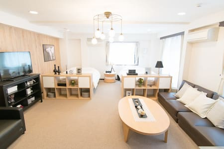 Cozy Spacious Shinjuku room! Max 12+pWifi #2M15