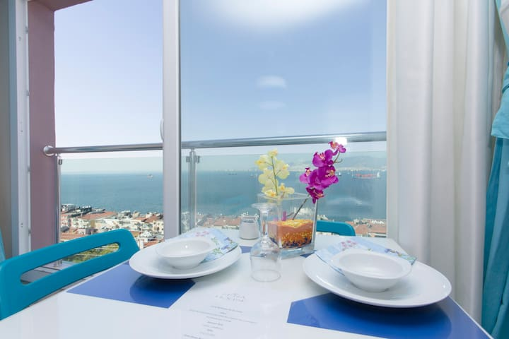 2700- Vip Full Sea Wiew - Esmirna - Apartamento