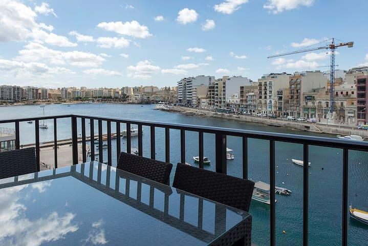 St Julian Seafront Duplex 4-bed