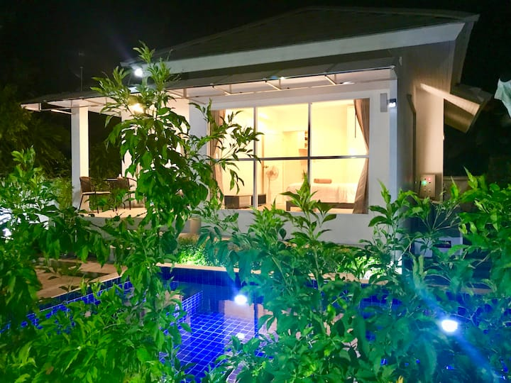 2 Bedroom Villa Jasmine - walk to Ban Tai beach