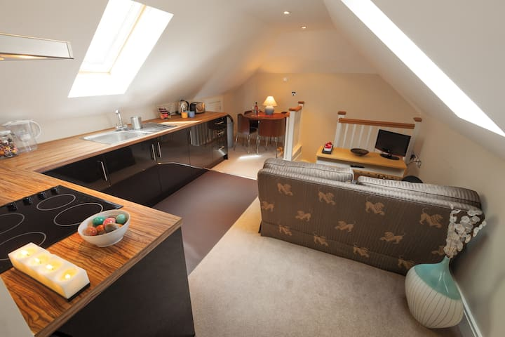 Luxury studio apartment nr Henley - Oxfordshire - Daire