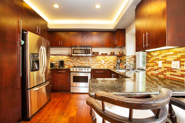 Enjoy all the comforts of home in this upgraded kitchen.