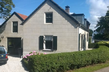 Country House with large garden - Enspijk