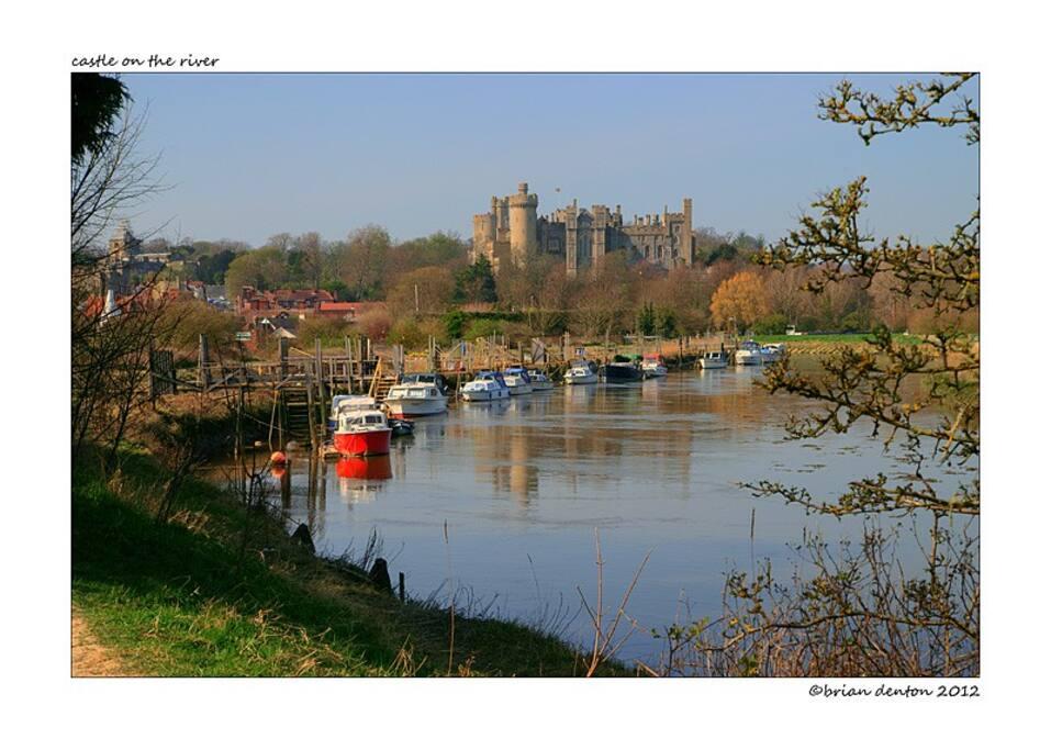 Arundel Castle on the Arun River, a short drive from Littlehampton