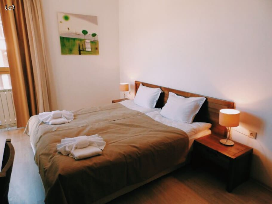 Double room + twin room available