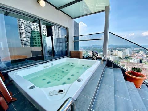 MWHolidayA2223⚜️【Premium 】Private Dip Pool Villa