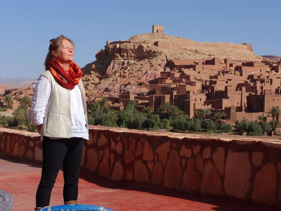 Leaving Marrakech across the stunning Atlas to Ait Ben Haddou - 4 hours and the afternoon to explore