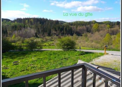 """Gite """"HIVER"""" au coeur de la forêt max 5 personnes - Le Soulié"""
