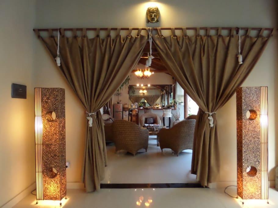 Lounge Area entrance.