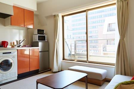 47 sqm Duplex, Shiba Park, Tokyo - Minato - Apartment