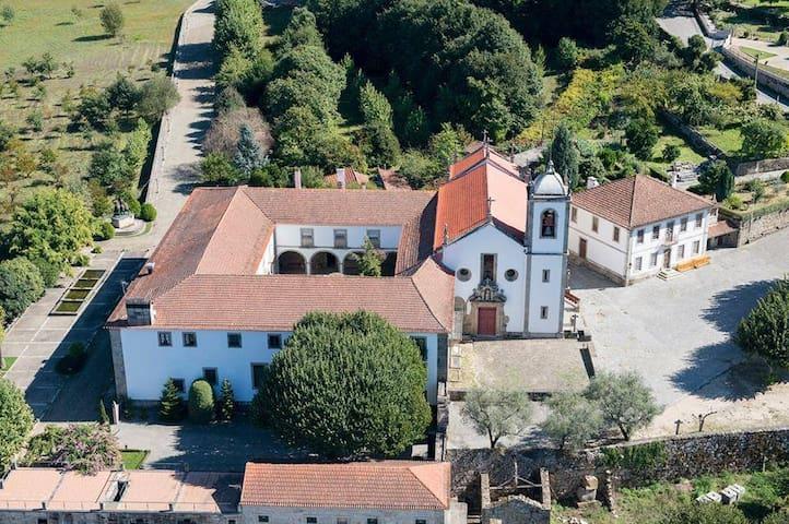 Monastery in north of Portugal - vila boa do bispo