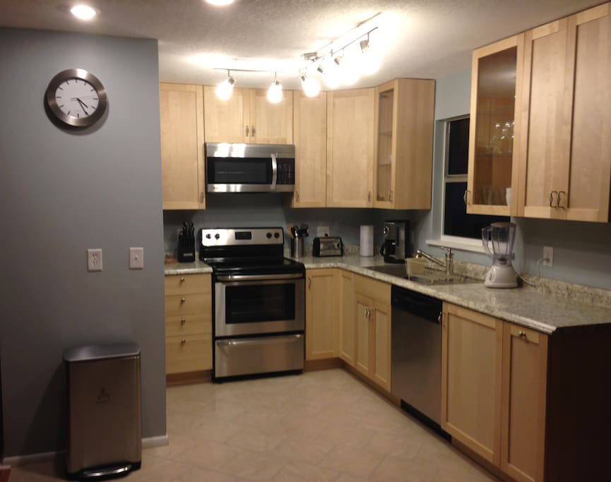 Modern, new kitchen with all the amenities