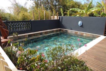 Chambre 2 dans villa avec piscine - la montagne - Σπίτι