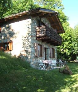 Baita isolata in mezzo al bosco - Berbenno di Valtellina