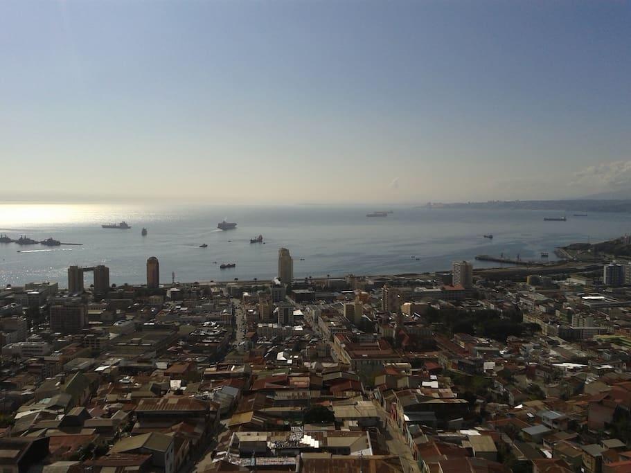 Vista Bahía Valparaiso