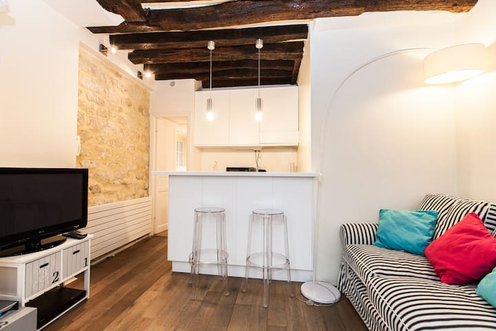 Lovely 1br close to Les Halles 1670