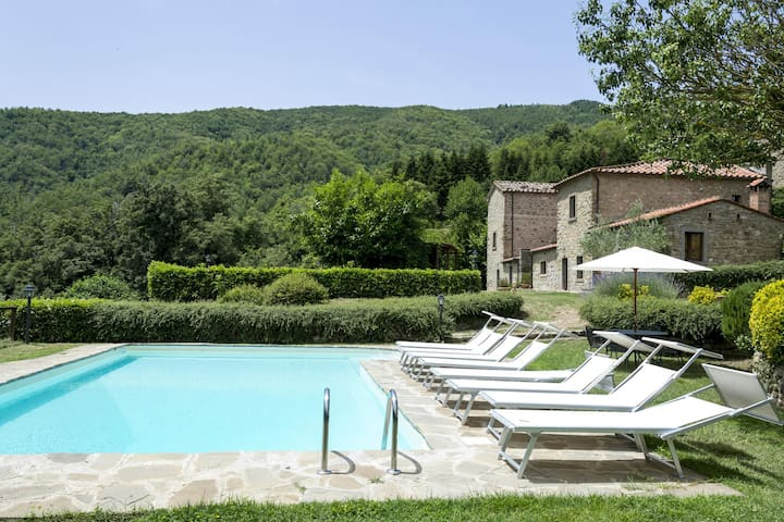 Villa Della Valle private and quiet on the hills - Cortona - Willa