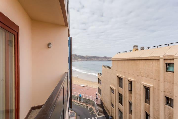 Estudio con vistas al mar appartements en r sidence - Estudios en las palmas de gran canaria ...