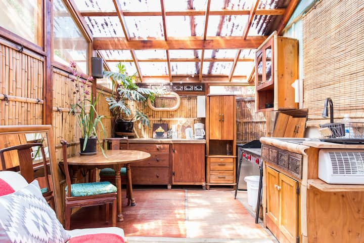 Organic Farm Private Guesthouse w/ Bamboo Kitchen