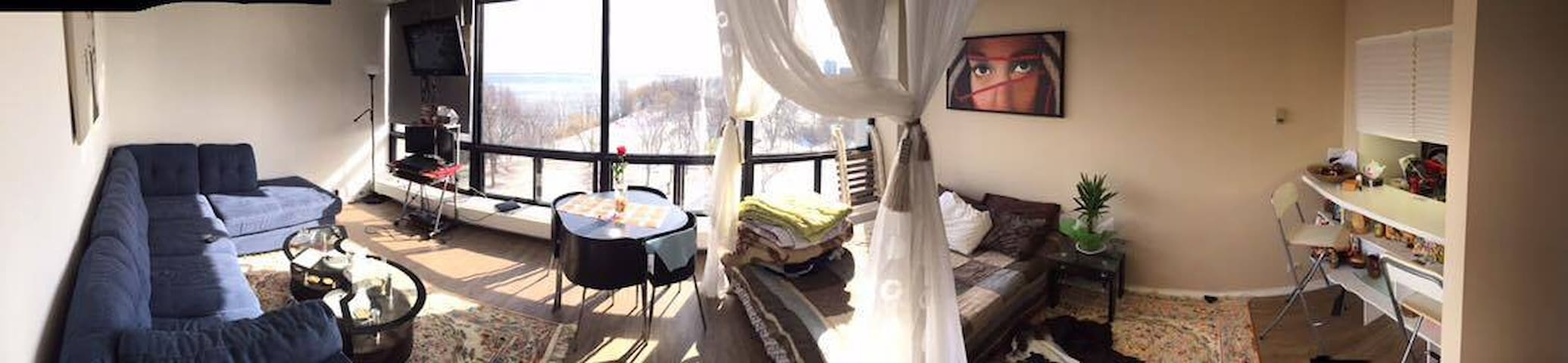 Gorgeous studio with an exceptional view - Montreal - Departamento