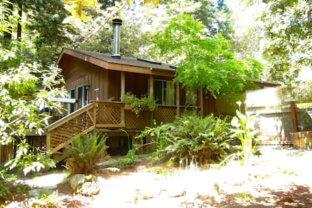 The Petit Cottage in the Redwoods - Gualala