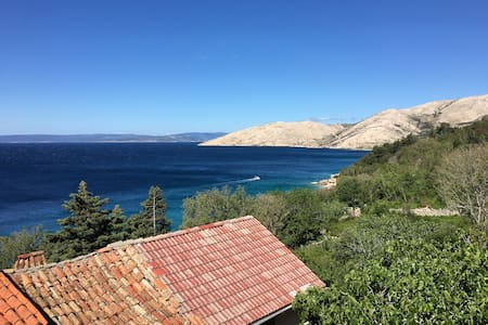 Apartment 50m from the beach; magnificent views - Stara Baška - อพาร์ทเมนท์