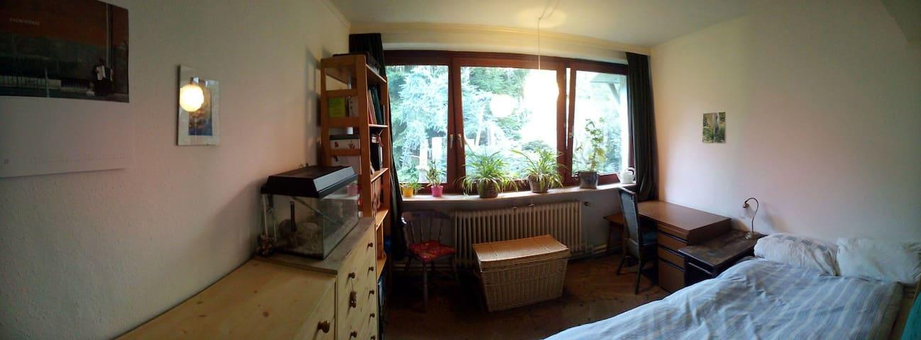 nice little room, quiet and green - Hamburg - Hus