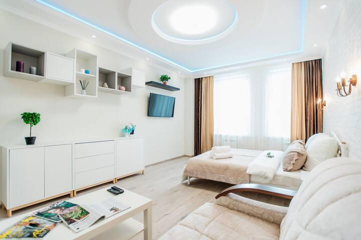 Комфортабельная и уютная квартира в центре города!