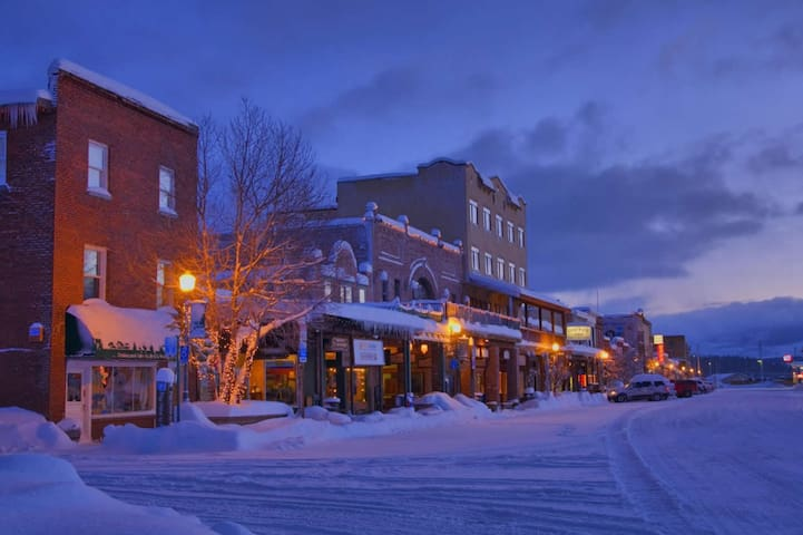 We are just a quick five minute walk to historic downtown Truckee!