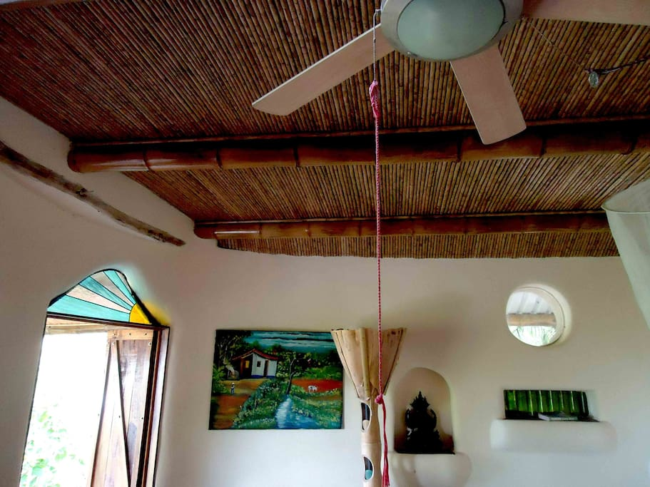 Ceiling Fan and local art