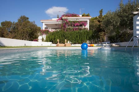 Beautiful  beachfront house - Aghios Emilianos,