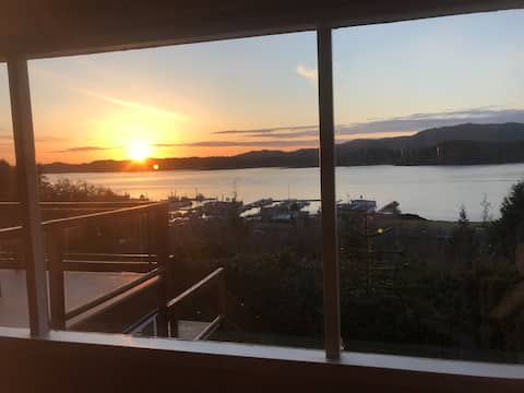 Prince Rupert Executive Home with Ocean View
