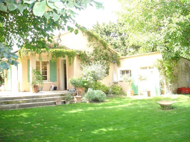 Avignon - villa dans les vignes - Sarrians - Casa