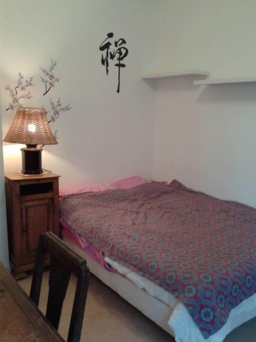 Chambre au calme chez l 39 habitant bed breakfasts for for Chambre chez habitant paris