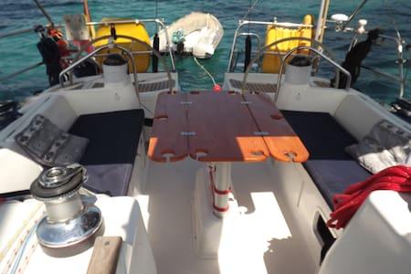 Cabine privative à bord d'un 12m! - LA CIOTAT