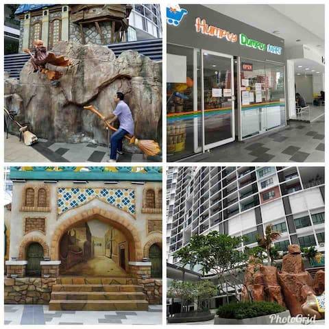 I-City Homestay 4pax 2min Central mall (near UiTM)