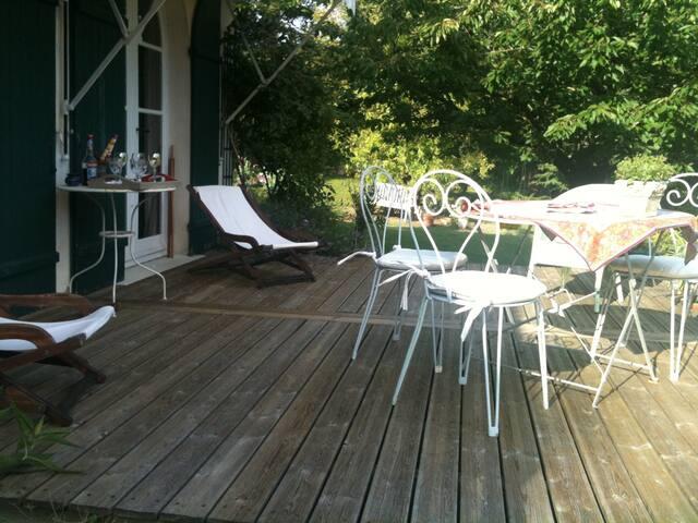 chambre dans maison particulière - gonneville sur mer - Haus