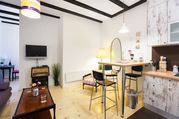 Beautiful place-upbeat neighborhood - Zagreb - Appartement