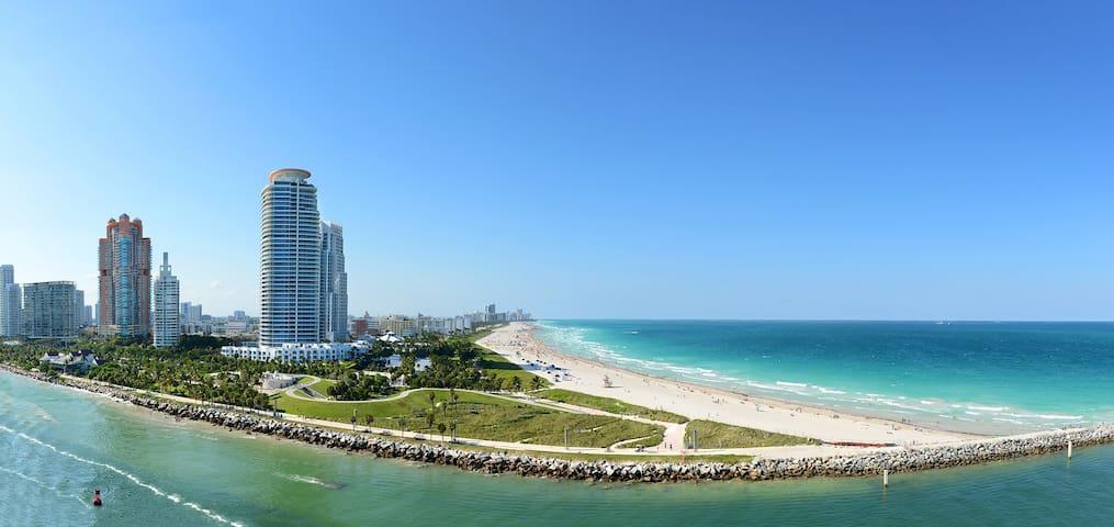 South Beach Ocean Drive Beach ***** - Miami Beach - Apartmen
